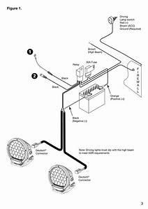 Narva 12v Car Wiring Harness Loom Kit For Ultima 9 U0026quot  Led