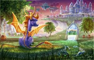 Spyro Origins by IceDragonhawk on DeviantArt