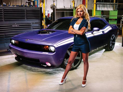 pin  tom king  challenger girls dodge muscle cars