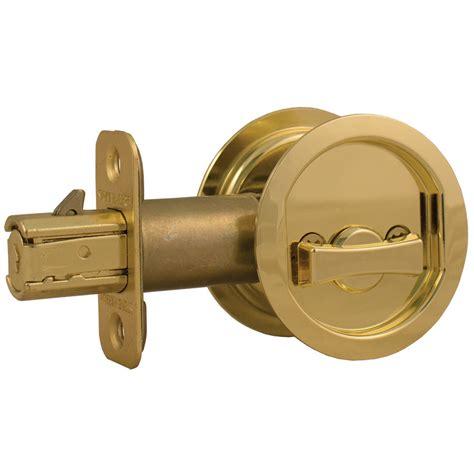 pocket door lock harbor hardware pocket door lock ebay