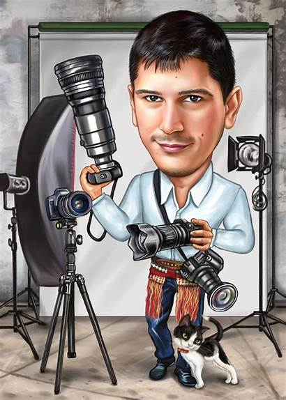 Photographer Caricatures Caricatoore Caricature