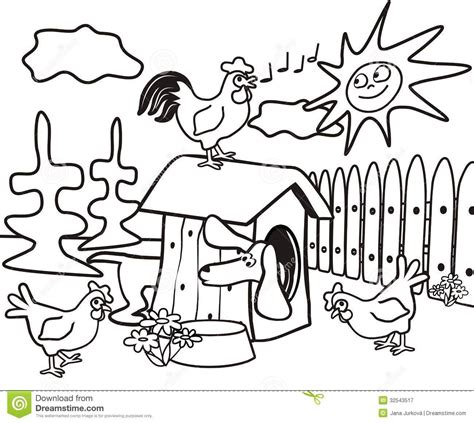 dachshund coloring book kids dog cock hens jpg