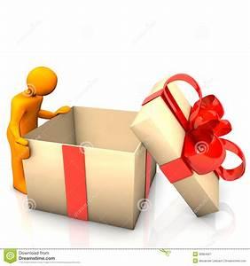 Boite Coffret Cadeau Vide : cadeau vide de mannequin photographie stock libre de droits image 30964567 ~ Teatrodelosmanantiales.com Idées de Décoration
