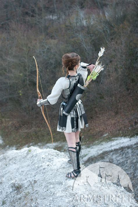 great handmade functional archer bowman quiver
