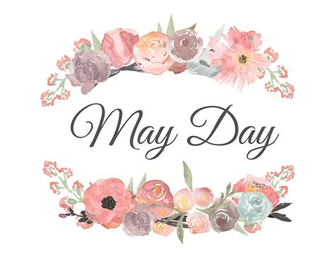May Clip May Day Flowers Clip Www Imgkid The Image Kid