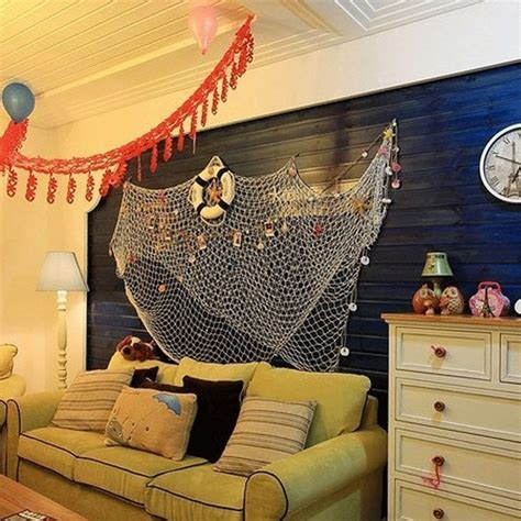 fish net hanging decorative home decor nautical fishing