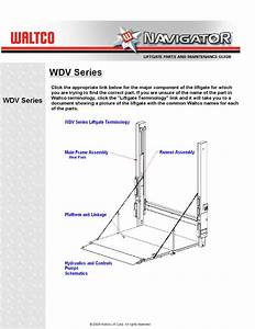 Waltco Wdv Series Liftgate By The Liftgate Parts Co