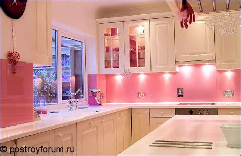 pink kitchen tiles дизайн кухни в розовом цвете 1503
