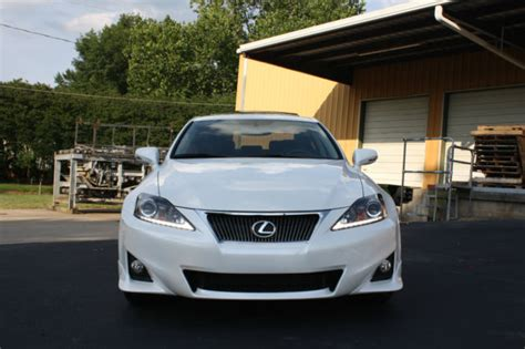 white lexus is 250 2011 lexus is250 pearl white f sport