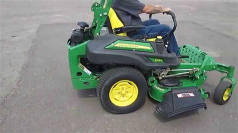 2013 deere z915b mid mount zero turn lawn mower