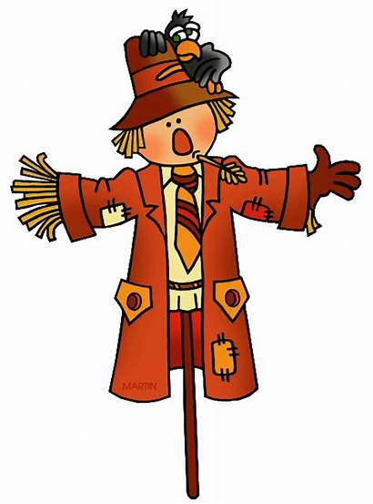 Clipart Scarecrow Harvest Transparent Clip Halloween Medieval