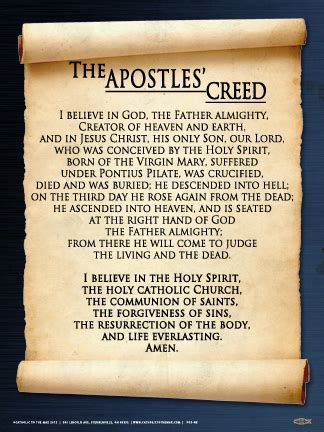 marriage cards quotes apostles 39 creed wall graphic steubenville press