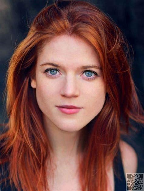 Natural Bright Red Hair