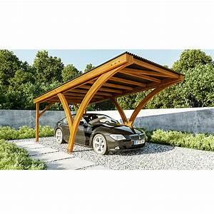 Carport Maße Für 2 Autos : carport olivia 6 x 3 08 m einfahrtsh he 2 67 m vorne ~ Michelbontemps.com Haus und Dekorationen