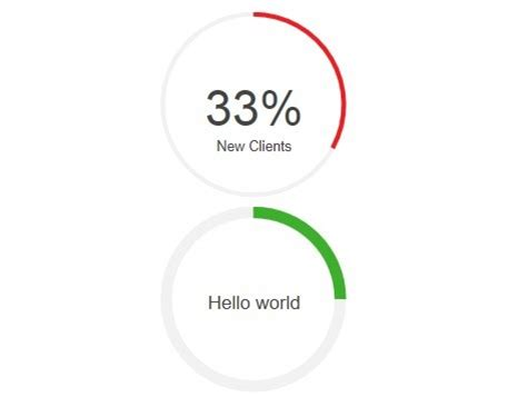 I used r = 57, since the perimeter is 358.1 which is close to 360 degrees. 10 Best Circular/Radial Progress Bar JavaScript Plugins ...
