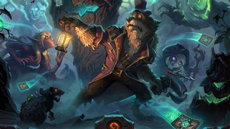 hearthstones  witchwood expansion adds witches woods