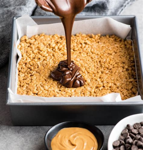 corn syrup peanut butter rice krispies