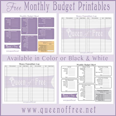 English Budget Template by Monthly Budget Template Printable Budget Template Free