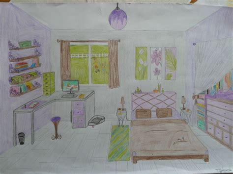 dessin en perspective d une chambre une chambre dessin chaios com