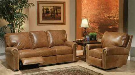 What To Do With Sofa by Omnia Leather Fairfield Reclining Sofa