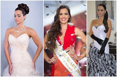 Lượt xem 379 n3 năm trước. Miss World Hungary 2016 győztese menyasszonyi ruhában - Anderella Wedding Boutique