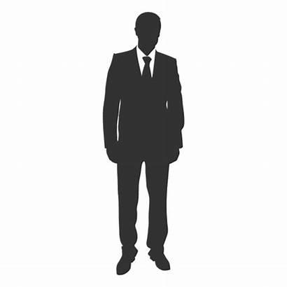 Standing Business Executive Transparent Svg Silhouette Businessman
