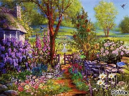 Garden Picmix Flower Gifs Landscape Google Lindos