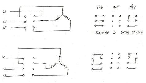 Single Phase Reversing Switch Wiring by Forward Switch Diagram Model Engineer