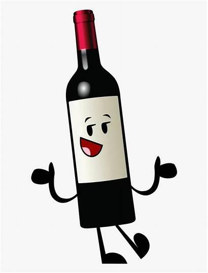 Wine Bottle Cartoon Clip Clipart Glass Alcohol