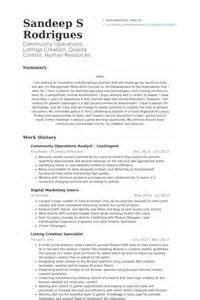 financial operations analyst resume operations analyst resume sles visualcv resume sles database