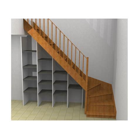 etageres sous escalier maison design goflah