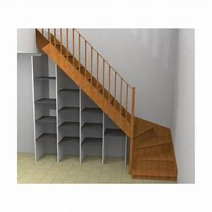 Etagere Escalier But : etag re sous escalier sur mesure sans socle ni dessus ~ Teatrodelosmanantiales.com Idées de Décoration