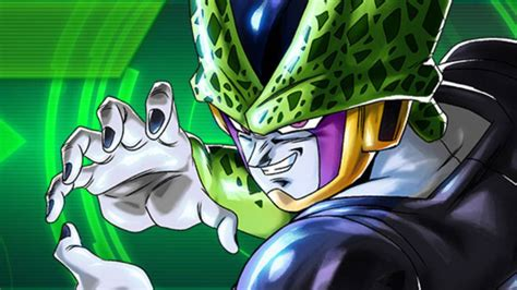 dragon ball legends recibe  cell perfect en sparking