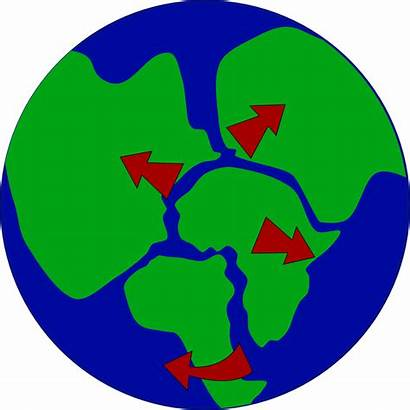Earth Breaking Continents Clip Onlinelabels