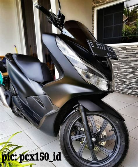 Pcx 2018 Dp by Gambar Honda Pcx 2019 Hitam Modifikasi Sobotomotif