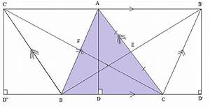In Triangle Abc  Altitude Ad 18  Medians Be And Cf Are 9