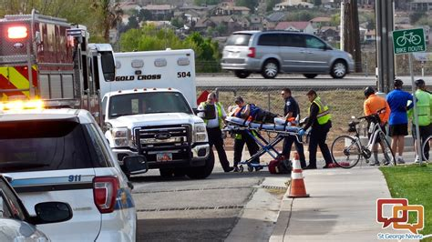 News short: Bicyclist injured in accident near freeway ...