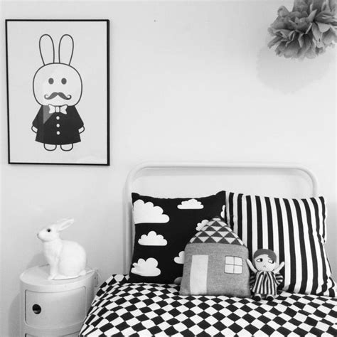 Chambre Enfant Déco Noir Et Blanc Einteriorconcept