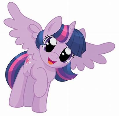 Pony Twilight Sparkle Happy Alicorn Ponies Power