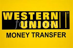 Western Union Money Transfer sign