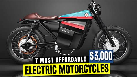 7 Electric Motorcycles W/ Good Pricing In 2018