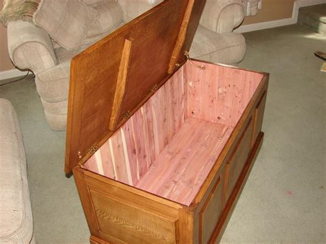 blanket chest plans mission  woodworking