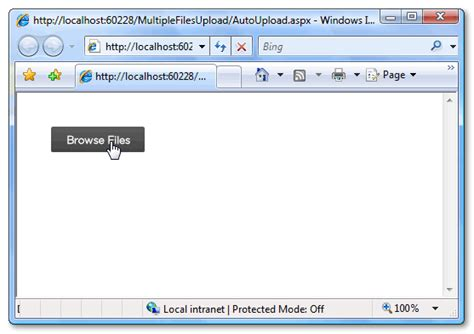 jquery form file upload exle upload files with progress bar in asp net using jquery