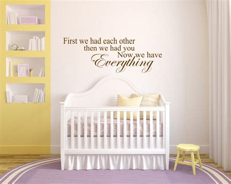 Baby's Room Decal Baby's Room Quote Bedroom Wall