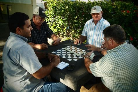 site  san juan playing dominoes   locals