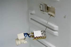 Brewpi Fridge Conversion  The Thermostat And Light Fixture