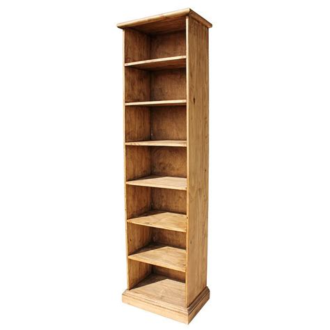 Pine Bookcase by Bookcases Pine Rustic Pine Bookcase Mexican Rustic