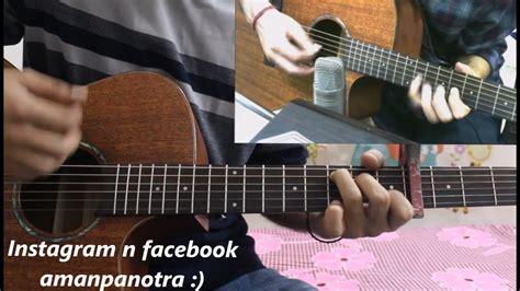 tera ban jaunga kabir singh hindi guitar cover lesson