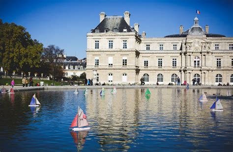 Sailboats Jardin Du Luxembourg by La M 233 Moire Vive The Of The Wooden Sailboats