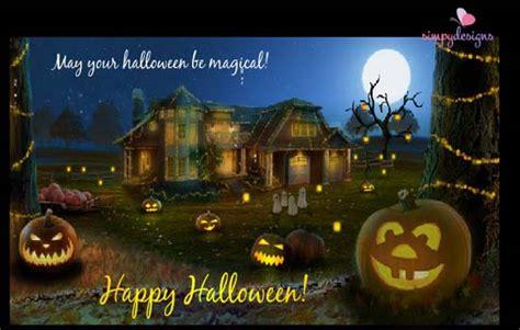 magical halloween  happy halloween ecards greeting cards